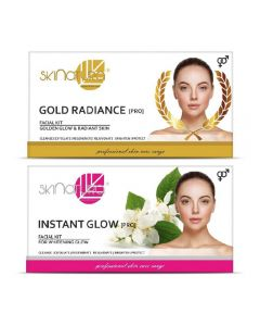 Skinatura Gold Radiance + Instant Glow Facial Kit 230 g (Set of 2)