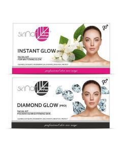 Skinatura Instant Glow + Diamond Glow Facial Kit 230 g (Set of 2)
