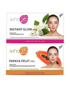 Skinatura Instant Glow + Papaya Fruit Facial Kit 230 g (Set of 2)