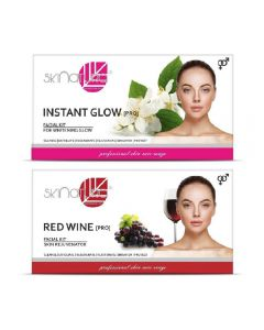 Skinatura Instant Glow + Red Wine Facial Kit 230 g (Set of 2)