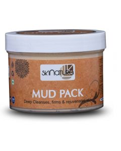 Skinatura Mud Pack ( Deep Cleansing, Firms, Rejuvenates Skin 400 gm ) (400 g)