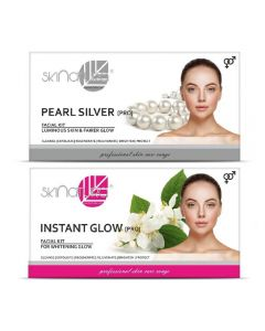 Skinatura Pearl Silver + Instant Glow Facial Kit 230 g (Set of 2)