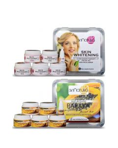 Skinatura Skin Whitening + Papaya Facial Kit ( Combo of 2 ) 310 g (Set of 2)