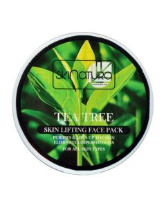 Skinatura tea tree skin lifting face pack (480 g)