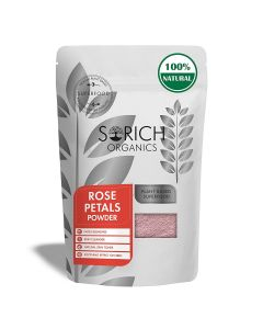 Sorich Organics Rose Petal Powder for Skin - 100 Gm - 100% Pure and Natural