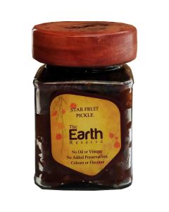 The Earth Reserve Star Fruit Pickle - 300 gm