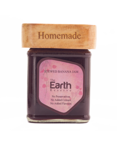The Earth Reserve All Natural Stewed Banana Jam - 300 gm