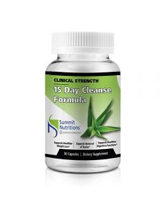 Summit Nutritions Clinical Strength 15 Day Cleanse Formuls (Pack OF 1)