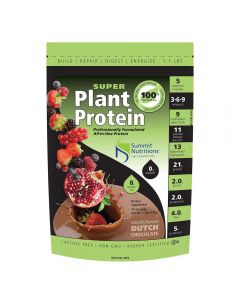 Summit Nutritions Super Plant Protein 1lb (Dutch Chocolate)
