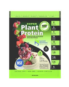 Summit Nutritions Super Plant Protein 2lb (Alpine Vanilla)