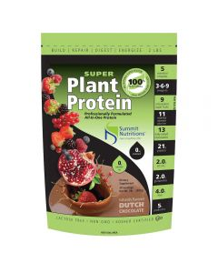 Summit Nutritions Super Plant Protein 2lb (Dutch Chocolate)