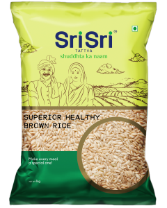 Sri Sri Tattva Superior Healthy Brown Rice - 1kg