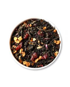 Teafloor Cranberry Apple Ginger Green Tea - 100gm