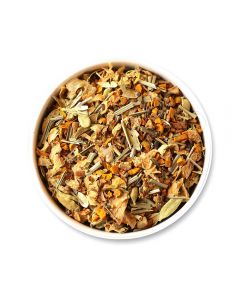 Teafloor Turmeric Citrus Spice Herbal Tea Tisane - 100gm