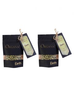 The Earth Reserve Organic Cardamom (Pack of 2) - 100 gm