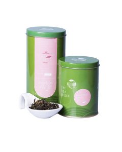 The Tea Shelf Chamomile Green Tea 100 Grams (40 Cups), naturally soothing and calming loose leaf tea with natural chamomile flowers