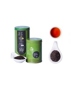 The Tea Shelf English breakfast Black Tea 100 Grams (40 Cups), premium loose leaf tea fresh from the estates