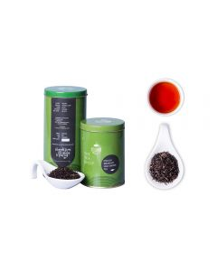 The Tea Shelf English breakfast High Grown Black Tea 100 Grams (40 Cups), premium loose leaf tea fresh from the estates