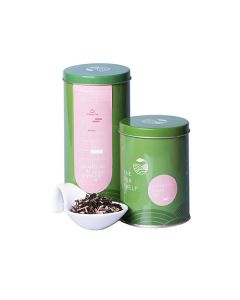 The Tea Shelf Lemongrass Ginger Black Tea 100 Grams (40 Cups), Wellness tea during winters, iced tea during summers