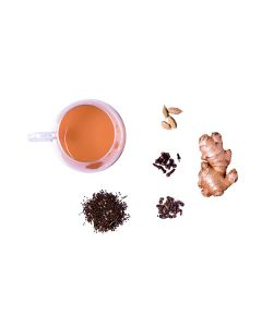 The Tea Shelf Masala Chai 100 Grams (50 Cups), Assam CTC blend with spices