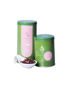 The Tea Shelf Spiced Rose Black Loose Leaf Tea 100 Grams (40 Cups), Wellness Tea with  Spices like Clove and Cardamom