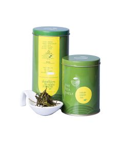 The Tea Shelf Virgin Green Tea 100 Grams (40 Cups), Low Caffeine, Healthy Green Tea