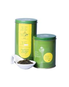 The Tea Shelf Winter Forest Green Tea 100 Grams (40 Cups), premium winter flush loose leaf Nilgiri Green Tea