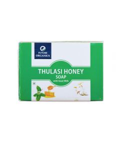 Future Organics Thulsi Honey with Goat milk Bathing Soap - 100 gm