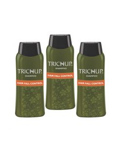Trichup Hair Fall Control Herbal Shampoo 200 ml (Pack of 3)