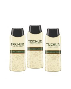 Trichup Healthy Long and Strong Herbal Hair Shampoo 200 ml (Pack of 3)