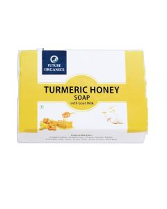 Future Organics Turmeric Honey with Goat milk Bathing Soap - 100 gm
