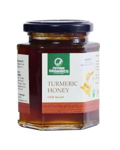 Future Organics Turmeric Honey (Milk based) - 250 gm