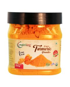 Nutriorg Certified Organic Turmeric Powder 250g