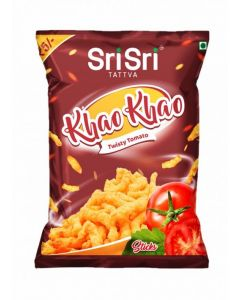 Sri Sri Tattva Khao Khao Twisty Tomato Sticks - 22gm