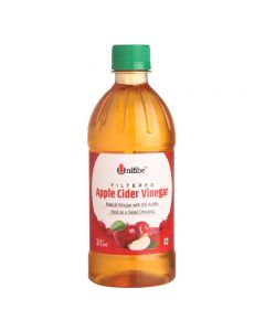 Unifibe Filtered Apple Cider Vinegar - 473 ml