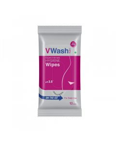 V Wash Hygiene Wipes Intimate Wipes(20 Sheets)
