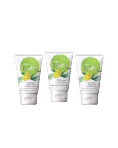 Vasu UVA Herbal Facewash for Oily Skin 60ml (Pack of 3)