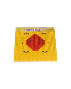 Visiono Acupressure & Exercise Yellow Foot Mat
