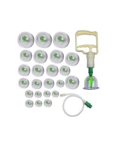 Visiono 24 Cup Acupuncture Cupping Therapy Set
