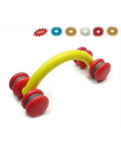 Visiono Acupressure Spine Roller Body Massager