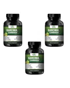 VEDA MAXX Garcinia Cambogia Extract 100% Veg Weight Loss/Fat Burner Supplement (500Mg Pack of 03 Each Contain - 60 Capsules)