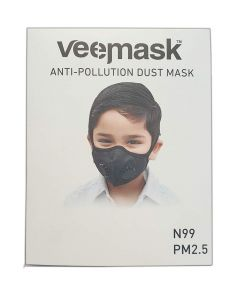 VEEMASK N99 Anti Pollution Face Mask With Two Valves - Large