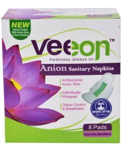 Veeon Sanitary Napkins - 8 Pads