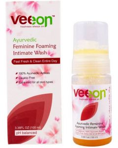 Veeon Ayurvedic Feminine Foaming Intimate Wash 100ML