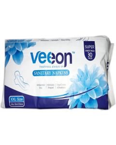 Veeon Family Pack Sanitary Pad Ultra Slim XXL-30 Pads