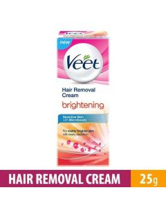 Veet Hair Removal Brightening for Sensitive Skin Cream 25gm