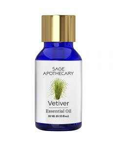Sage Apothecary Vetiver Essential Oil - 10ml