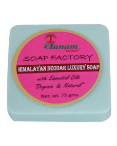 Vanam Herbals Himalayan Deodar Luxury Herbal Soap with Essential Oil Organic & Natural - 75 gm