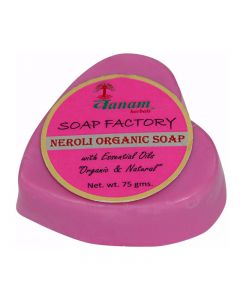 Vanam Herbals Neroli Organic Herbal Soap with Essential Oil Organic & Natural - 75 gm