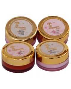 Vanam Herbals Luxurious Combo Pack Straw Berry Lip balm and scrub  (Pack of 4) - 40 gm